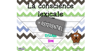 Conscience lexicale
