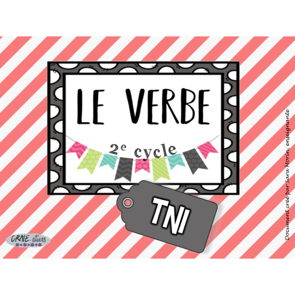Classes de mots - Verbe