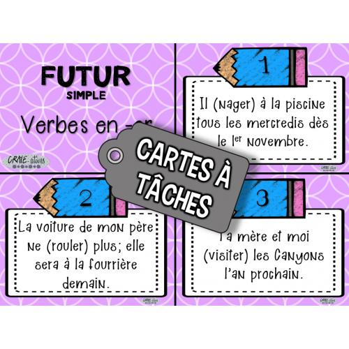 Classes De Mots Conjugaison Des Verbes